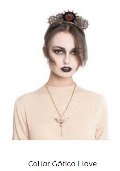 colgante disfraz de vampiro llave