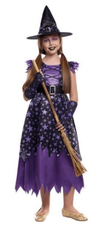 disfraces de bruja niña original