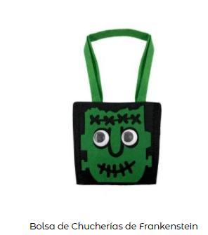 Disfraces Frankenstein bolsa chuches