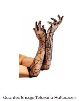 Disfraces Frankenstein guantes chica araña