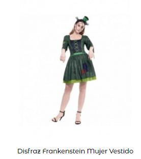 Disfraz de novia Frankenstein mujer