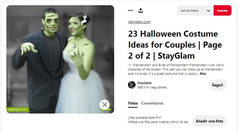 Disfraces Frankenstein para adultos
