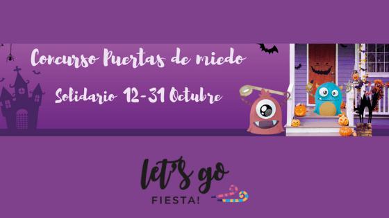 Concurso Puertas Miedo Solidario 2020 letsgofiesta