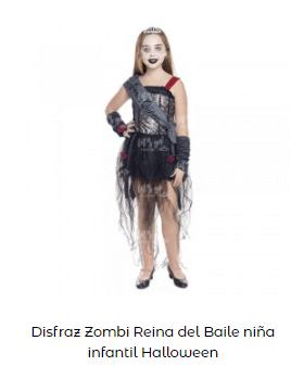 Disfraz Carrie Stephen King fiesta niña