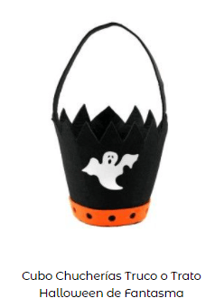 Origen Halloween Truco trato bolsa fantasma