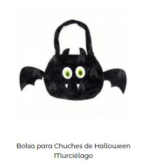Origen Halloween Truco trato bolsa murcielago