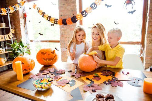 actividades de Halloween en casa