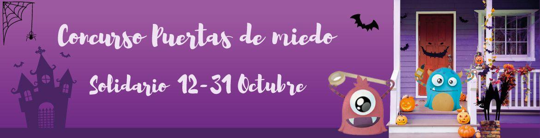 concurso halloween puertas miedo solidario letsgofiesta 2020