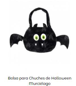 disfraces de bruja cubo murciélago chuches