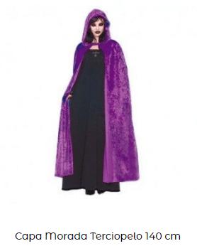 disfraces hocus pocus bruja capa morada
