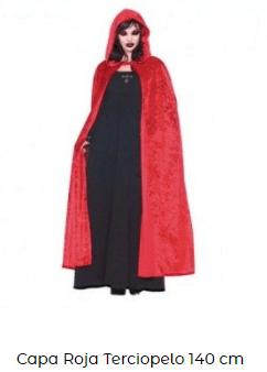 disfraces hocus pocus bruja capa roja
