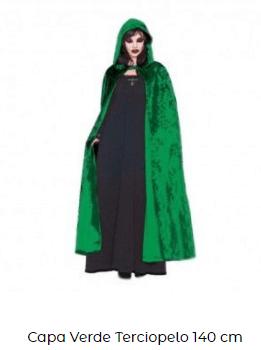 disfraces hocus pocus bruja capa verde