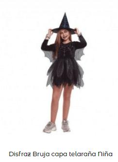 disfraces de bruja niña original teleraña