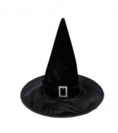 disfraces de bruja sombrero negro