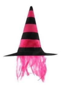 disfraces de bruja sombrero pelo