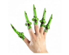 disfraces de bruja uñas verdes