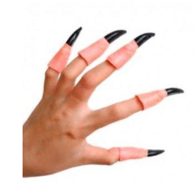 disfraces de bruja uñas