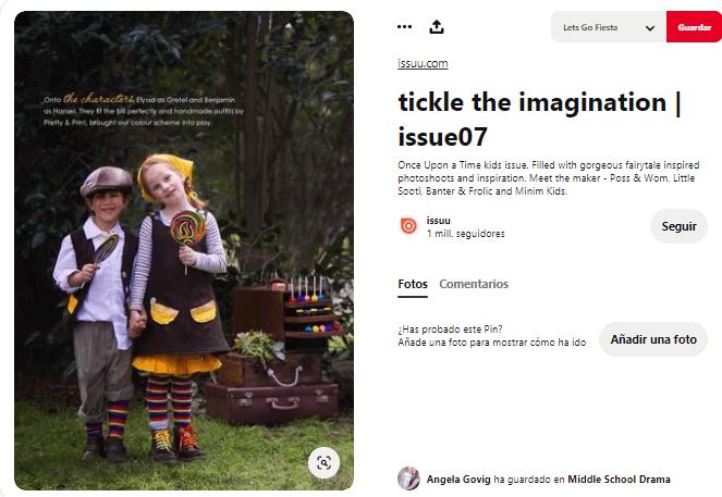 disfraz de Hansel y Gretel para niños pastores