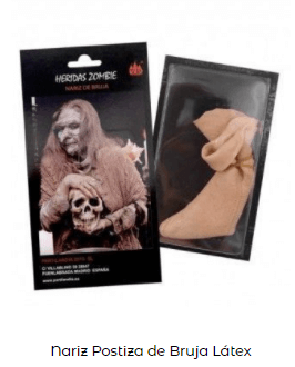 nariz disfraz bruja Hansel y Gretel
