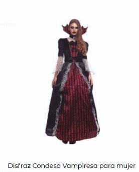 disfraz entrevista con el vampiro mujer clásico