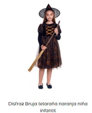 disfraz hocus pocus bruja niña infantil