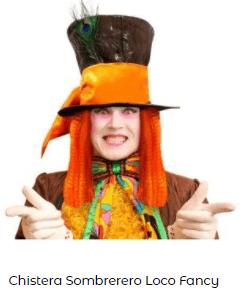 Juegos para estimular imaginación sombrero loco alicia