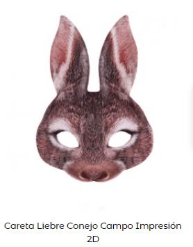 actividades niños estimular imaginación careta conejo