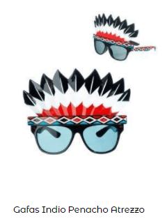 actividades niños estimular imaginación gafas indio
