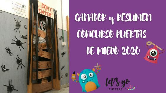 Ganador Concurso Puertas de Miedo Solidario Halloween 2020
