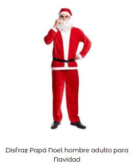 disfraces Navidad tradicionales papa noel