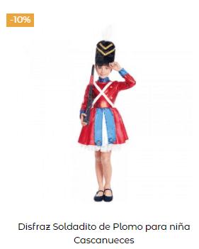 disfraces Navidad tradicionales para niña soldadito plomo