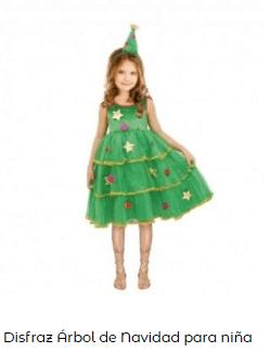 disfraces de Navidad originales árbol de navidad