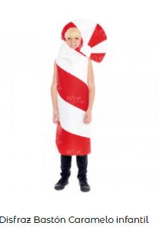 disfraces de Navidad originales baston caramelo