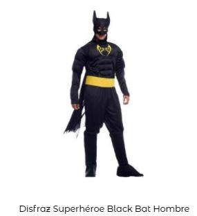 disfraces de Navidad superheroes batman hombre