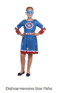 disfraces de Navidad superhéroes capitán américa