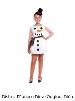 disfraces frozen para niña olaf en navidad