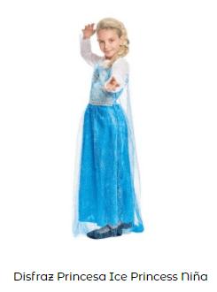 disfraces frozen para niña elsa en navidad