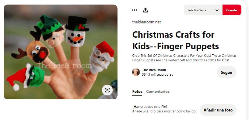 titeres de dedos navidad cabezas el grinch