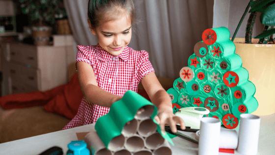 como hacer un árbol de navidad