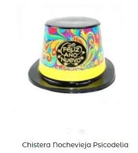 sombrero nochevieja complementos año nuevo