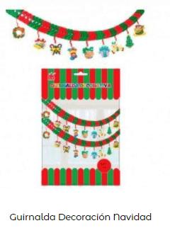 ideas decoración guirnaldas nochebuena navidad