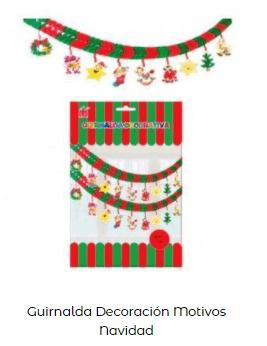 ideas decoración guirnaldas motivos navideños