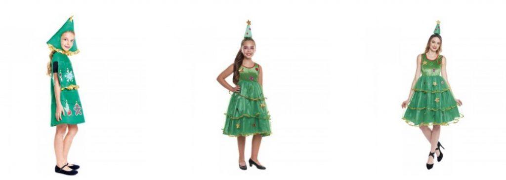 disfraces árbol navidad