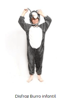 disfraz belén viviente burro
