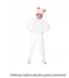 disfraz belén viviente cabra adulto