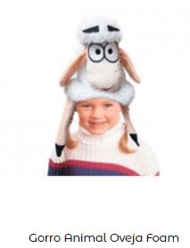 gorro oveja belén viviente