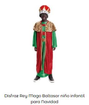 disfraces belén viviente rey mago baltasar niño