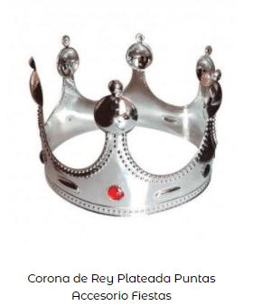 corona disfraz belén viviente rey mago gaspar