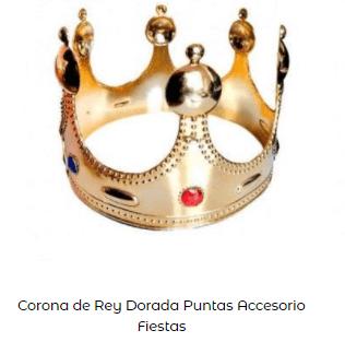 corona disfraz belén viviente rey mago melchor