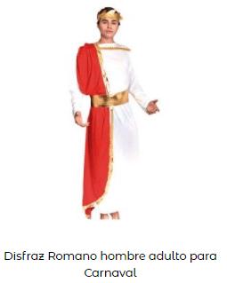disfraz romano adulto belén viviente